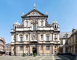 Iglesia de san carlos Borromeo amberes